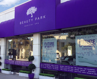 beauty park spa santa monica california